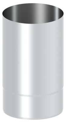 Einwandige Verbindungsleitung / Abgasleitung