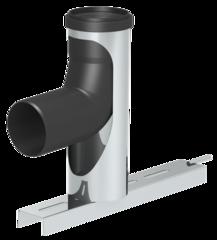 Druckdichte einwandige Abgasanlage aus Polypropylen (PP)